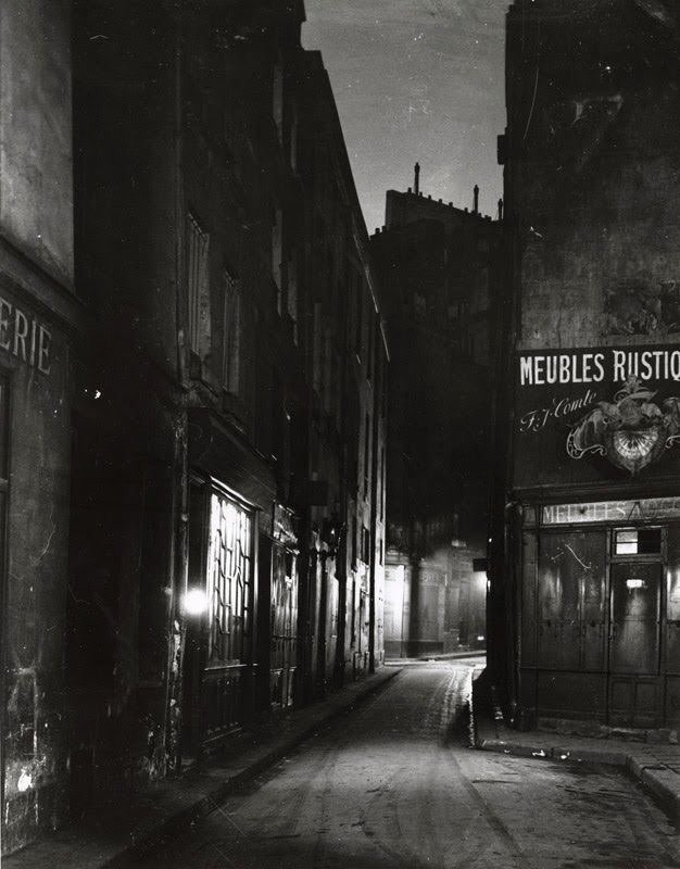 Latin Quarter, Paris, 1925. By Andre Kertesz